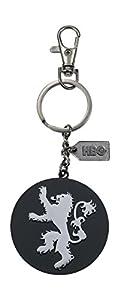 Game of Thrones Llavero logo de metal Lannister, color plateado (SD Toys SDTHBO27613)