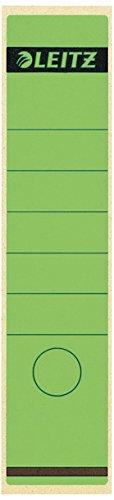 Leitz 16401055 - Etiqueta adhesiva lomo 100 unidades