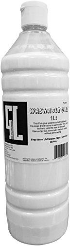 1 Litre Eco Washable PVA Craft School Glue Slime Compatible
