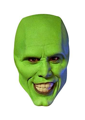 ZSMPY Máscara Cabeza De Horror De Halloween Cubierta Disfraz Friki Kim Kerry Pelota De Película Máscara De Látex Diablo Foto Accesorios