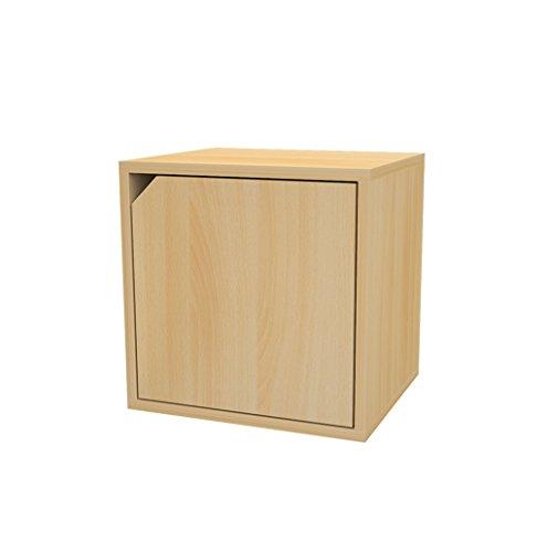 Estante, estante para libros biblioteca gratis combinación armario de tela escocesa madera Zhiwu viviendas gabinete sencillo moderno taquillas puerta