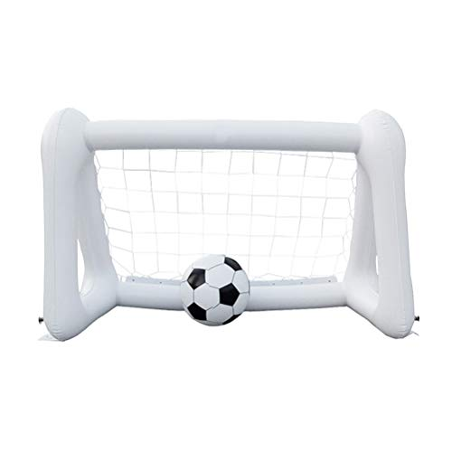 Toyvian Mini Fußballtor Set, PVC tragbare Fußballtor, Fußballtraining Sport Spielzeug für Kinder -