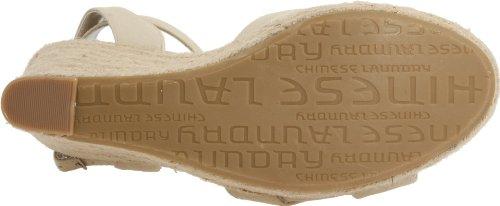 Chinese Laundry Desperado Femmes Synthétique Sandales Compensés Rice