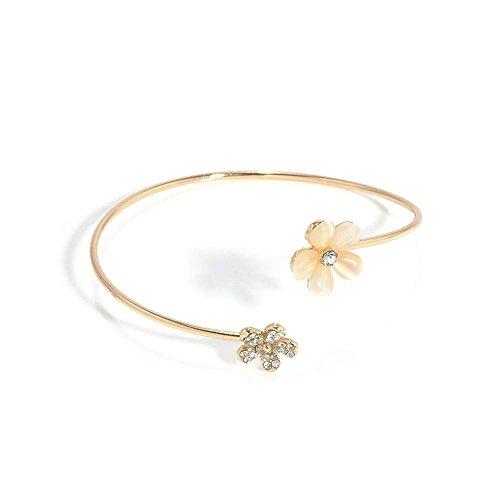 Blue Vessel Damen Armband Blumen Armband Mode Accessoires Diamant Schmuck Ladies Bracelet