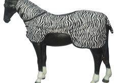 Pony Reiten Winter Sommer Outdoor Pferdedecke Hals Schutz Fly Tabelle, Newmarket Stripes