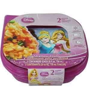 Disney Princess Sandwich Container 2pc [4 Retail Unit(s) Pack] - 65333 by UP
