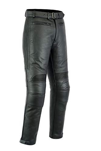 Texpeed - Herren - Motorradhose für Touring - Leder - Alle Größen -