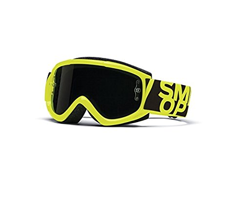 SMITH OPTICS MX BIKE - MOTOCROSS BRILLE FUEL V.1 MAX M ACID - BLACKOUT