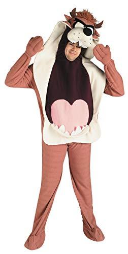 Für Erwachsene Tunes Kostüm Looney - Looney Tunes-i-16400-Kostüm-Erwachsene Taz-Größe Standard