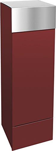 frabox Design Paketkasten Namur Special Edition, RAL 3003 Rubinrot