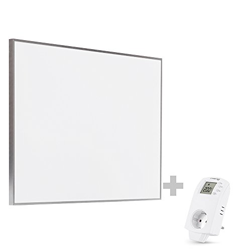 TROTEC TIH 500 S Infrarot-Heizplatte Infrarotheizung Heizpaneel 580 Watt inkl. Steckdosen-Thermostat BN30 -