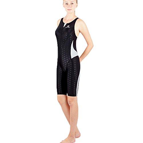 Professionelle Frauen Competitive Weste Badeanzüge Ausdauer Schwimmen Kostüm Legsuit Ein Stück , black jigsaw puzzle , 3xl