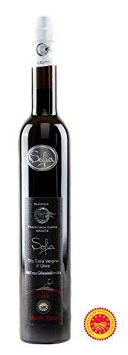 Olio extravergine di oliva 100% italiano d.o.p. monte etna. 500ml ( sofia ) di bronte sicilia