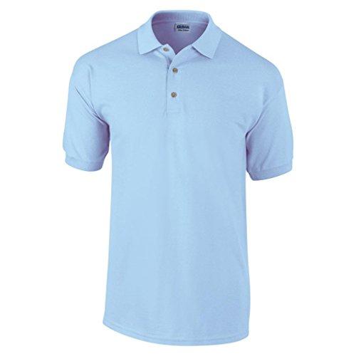 MAKZ Herren Poloshirt Blau - Hellblau