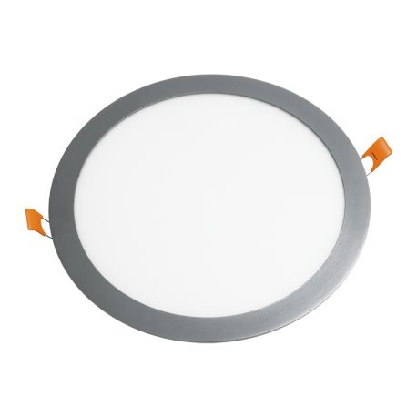 Preisvergleich Produktbild alverlamp dl12pl40al – Downlight LED Panel 12 W 4000 K Aluminium