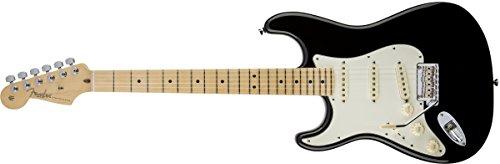 Fender American Standard Stratocaster MN BLK · E-Gitarre Lefthand