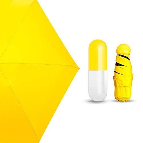 Zinniaya Moda portátil Unisex Paraguas Mini cápsula
