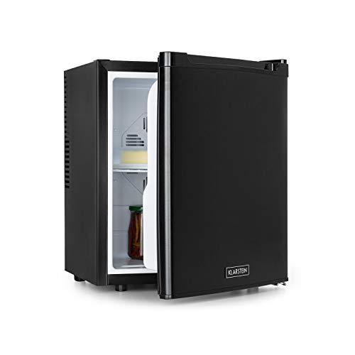 Klarstein CoolTour 38 Mini-Kühlschrank, 38 Liter, 12 V und 230 V, EEK B, Kühlbereich: 5-12 °C, Camping, LKW, Auto, inklusive Zigarettenanzünderkabel, Minibar, Getränkekühlschrank, schwarz