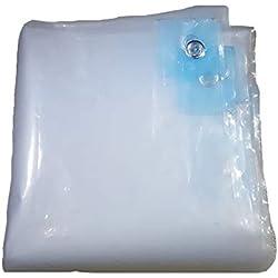 Lona BSNOWF- Lámina plástico de Efecto Invernadero Transparente a Prueba de Polvo a Prueba de Polvo Balcón 100 g/m², Espesor 0.12 mm (Tamaño : 2×3m)