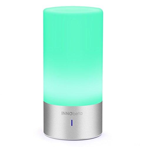 Innobeta Smartlight All-in-One Portable Smart Touch Illuminazione con Altoparlante Bluetooth, Hands-free, per Uso Interno, 6W