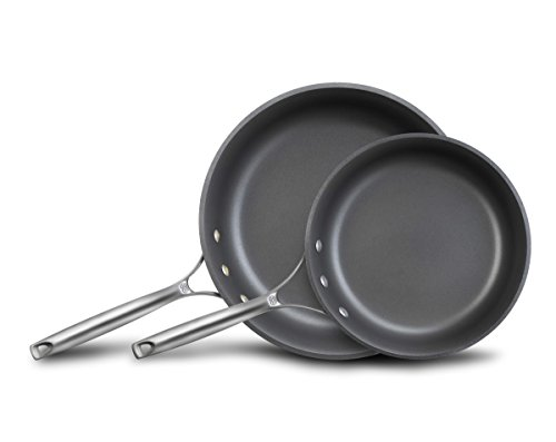 "Calphalon Unison Nonstick Slide Surface Omelette Pan, 10 and 12"", Black"