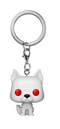 Funko- Pocket Pop Keychain: Game of Thrones: Ghost Collectible Figure, 34910, Multicolour
