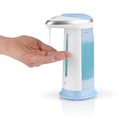 CLEANmaxx Seifenspender Infrarot-Sensor Batteriebetrieb Weiß Hygiene Automatik