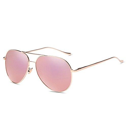 LQABW Polarisants Hommes Et Lunettes De Soleil Mode Féminine Confortable,Pink