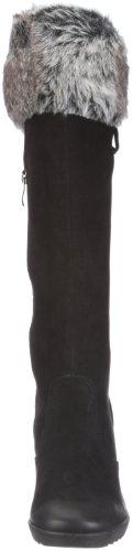 Caprice 9-9-25607-27 Damen Stiefel Schwarz/BLACK NUBUC