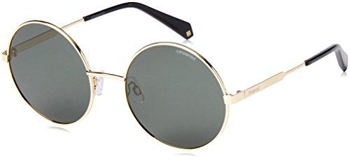 Polaroid Damen PLD 4052/S UC J5G 55 Sonnenbrille, Gold/Green Pz