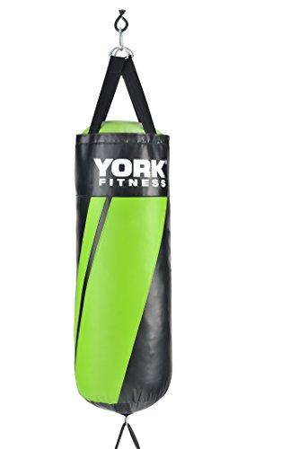York Fitness Punching bag York de frappe-Noir/vert...