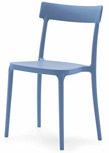 Sedia Calligaris Hero.Connubia Calligaris Set Of 2 Chairs Argo Sky Blue