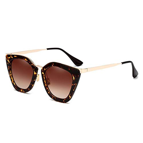 Yiph-Sunglass Sonnenbrillen Mode Frauen UV Schutz Outdoor Sport Sonnenbrille Unregelmäßige Katzenaugen Sonnenbrille Für (Farbe : Frame)