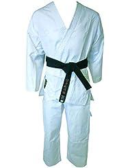 Montana mkk1000190cm Kimono Karate Unisex, Color Blanco