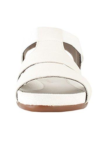 Aerosoles Sandale Power Point Damen Weiß Weiß