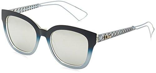 Dior Damen DIORAMA1 DC 2IL Sonnenbrille, Blau (Matt Blue/Extra White Marl), 52