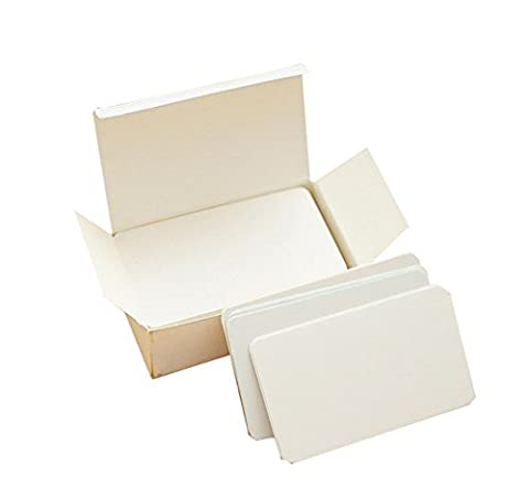 LAAT 100 Blatt Blank Wort Karten Mitteilungs-Karte Kleine Karte Notizblock