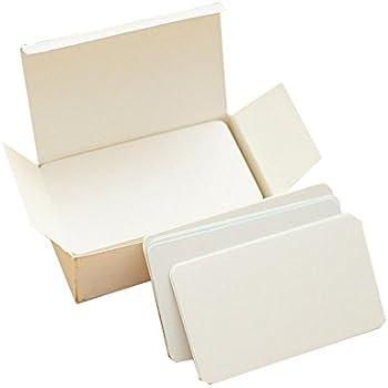 Uteruik 200pcs Blanko Kraftpapier Visitenkarten Word Card