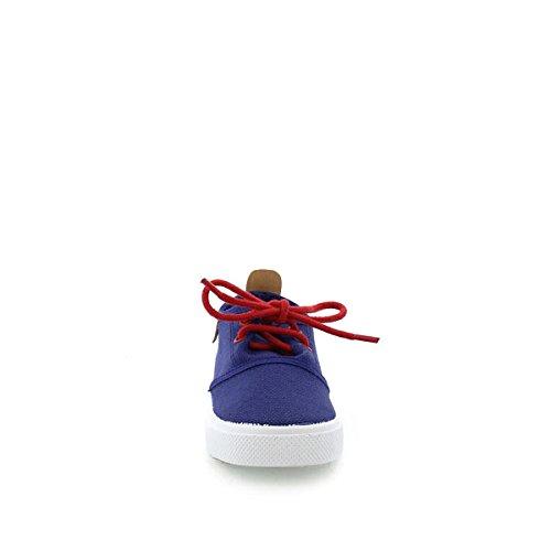Cheiw  47105, Baskets mixte enfants Bleu  (francia)