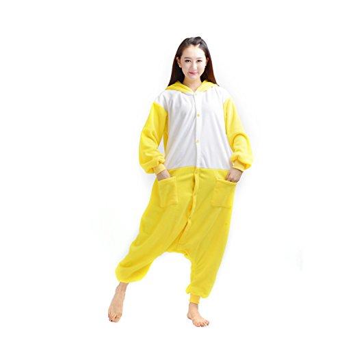 Imagen de darkcom  disfraz de animal unisex para adulto sirve como pijama o cosplay sleepsuit de una pieza pato alternativa