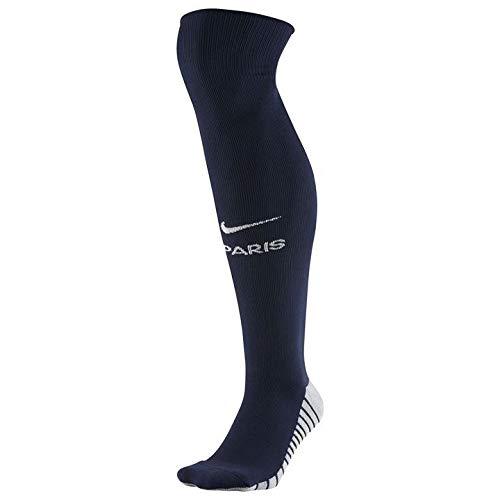 Nike Unisex-Erwachsene PSG U Nk Stad OTC Sock Hm Mitternacht-Marineblau weiß, S