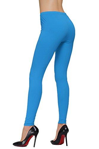 DIAMONDKI Women'Größe s Plus Knöchellange Leggings Türkis - Türkis