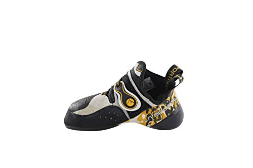 La Sportiva Solution chaussures d'escalade White/Yellow