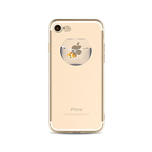 LaiXin Coque Paysage iPhone 6/6s Bumper Case Silicone en Souple Doux TPU + PC 2 in 1 Hybride Plastique Ultra-Slim Premium Anti-Rayures Anti Poussière Housse de Protection avec Motif Imprimé - Forêt Br A03