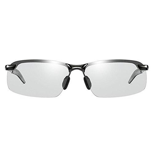 H.ZHOU Tag und Nacht Farbe Gläser Fahren Polarisierte Sonnenbrille Männer Fahrer Nachtsicht Fahren Angeln Herren Sonnenbrille