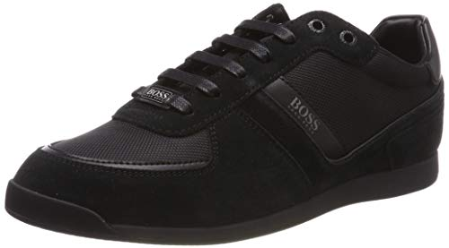 BOSS Herren Maze_Lowp_MX Sneaker, Schwarz (Black 001), 44 EU