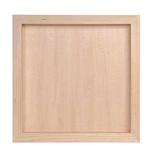Bulk Buy: Darice DIY Handwerk Holz Shadow Box 30,5 x 30,5 x 4,4 cm (4er Pack) 97824 - Unfinished Box Holz Handwerk