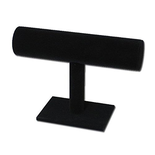 akooya Single Schicht Armbanduhr Armband Schmuck Display Ständer - Stoff-display-racks