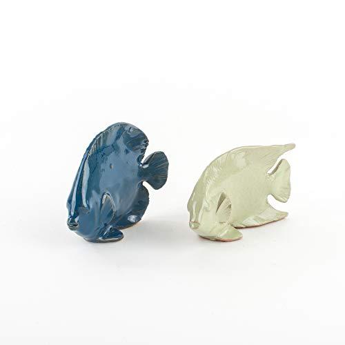 Zoom IMG-1 pesci in ceramica set 2