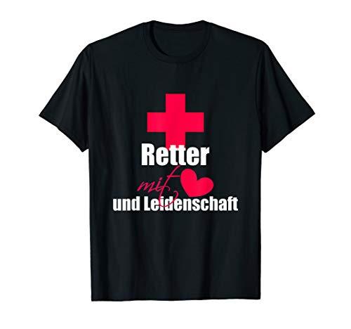 Rettungssanitäter Geschenk für Notfallsanitäter oder Notarzt T-Shirt